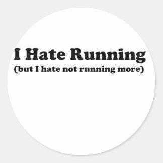 Odio correr black.jpg etiquetas redondas