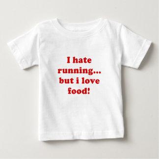 Odio correr pero amo la comida camisas