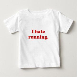 Odio correr polera
