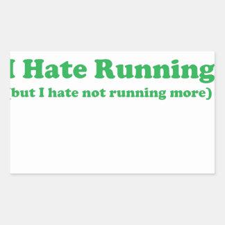 Odio correr verde rectangular altavoz