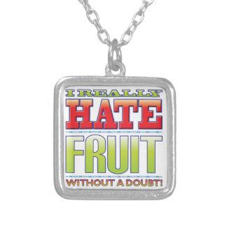 Odio de la fruta grimpola personalizada
