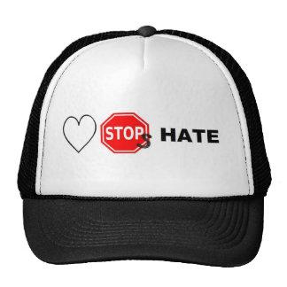 Odio de las paradas del amor gorro