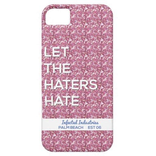 ¡Odio de los enemigos en INFECTADO! iPhone 5 Case-Mate Cárcasa