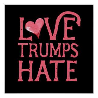 Odio de los triunfos del amor perfect poster