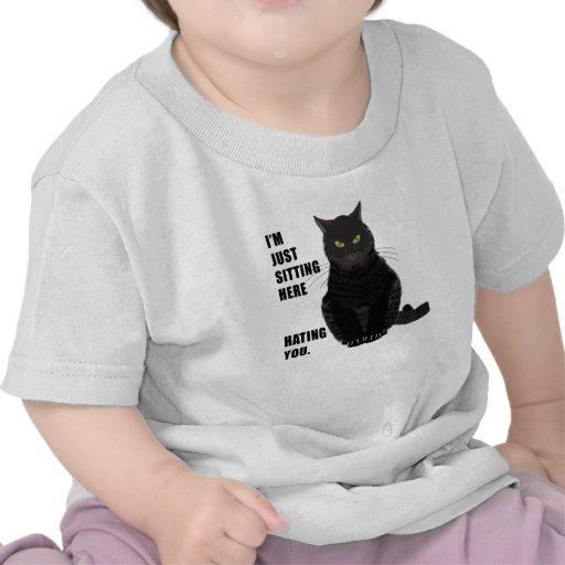 Odio de usted camiseta