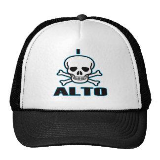Odio el alto gorra