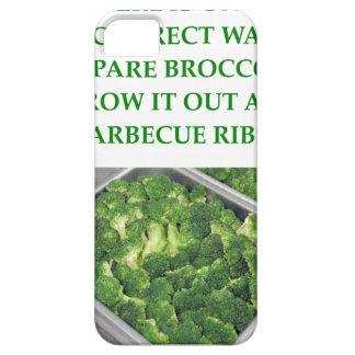 odio el bróculi iPhone 5 Case-Mate carcasas