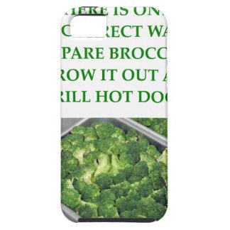 odio el bróculi iPhone 5 cárcasas