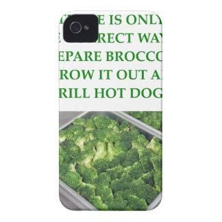odio el bróculi Case-Mate iPhone 4 carcasas
