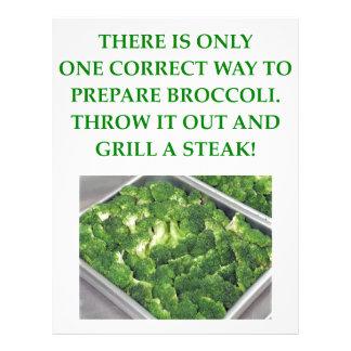 odio el bróculi plantillas de membrete