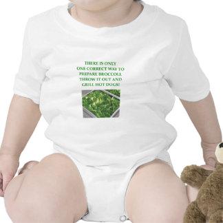odio el bróculi trajes de bebé