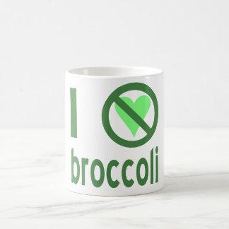 Odio el bróculi tazas