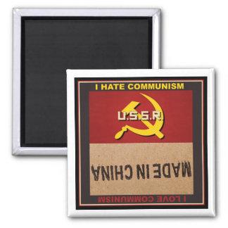 Odio el comunismo - comunismo del amor de I Imán Cuadrado