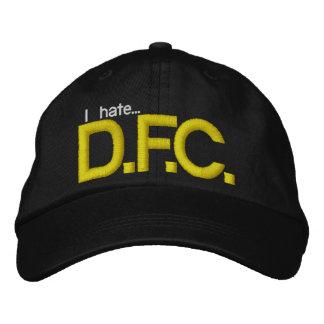 Odio el gorra de DFC Gorra De Béisbol
