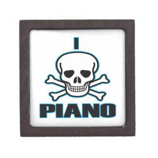 Odio el piano caja de regalo de calidad