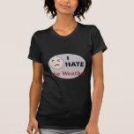 Odio el tiempo camisetas