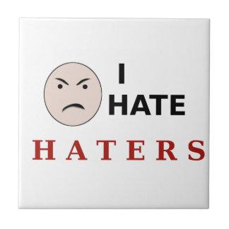 Odio enemigos tejas