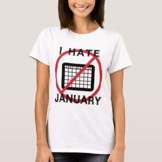 Odio enero playera