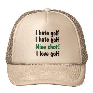 Odio - golf del amor gorro