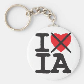 Odio IA - Iowa Llaveros