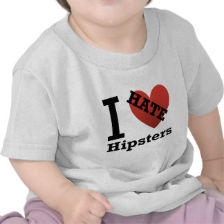 Odio inconformistas camisetas