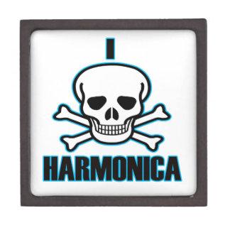 Odio la armónica caja de joyas de calidad