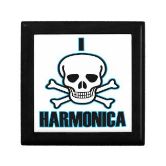 Odio la armónica cajas de joyas