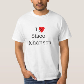 Odio la camiseta de Sisco Johanson Camisas