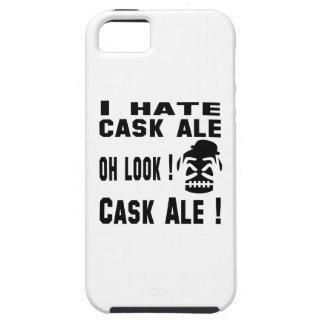 Odio la cerveza inglesa del barril iPhone 5 funda