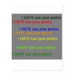 odio la policía dpsan de Jose del saj Tarjeta Postal
