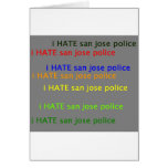 odio la policía dpsan de Jose del saj Tarjetón