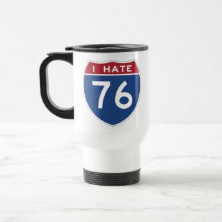 Odio la taza de 76 viajes