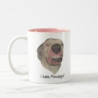 Odio la taza de lunes