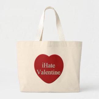 Odio las camisetas y los regalos del día de San Va Bolsas