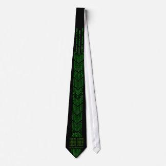 ¡ODIO LAZOS! Lazo (binario y maleficio) Corbata Personalizada