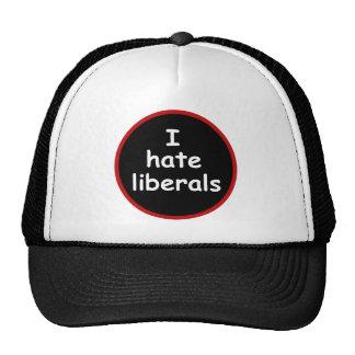 Odio liberales gorros