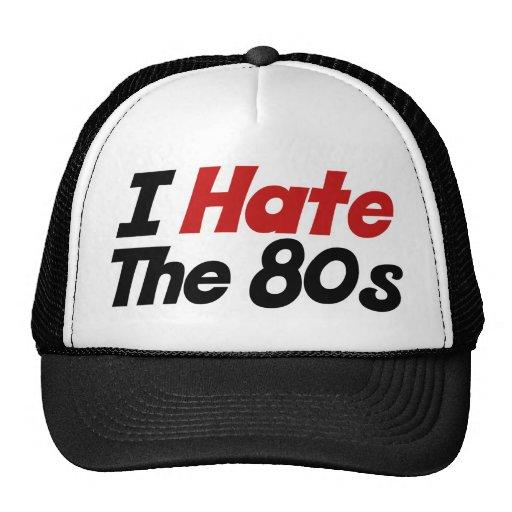Odio los años 80 gorra