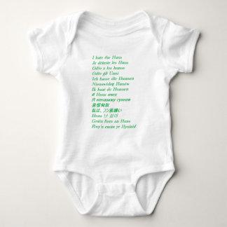 Odio los Huns Body Para Bebé