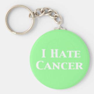 Odio los regalos del cáncer llavero redondo tipo pin