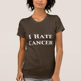 Odio los regalos del cáncer playeras