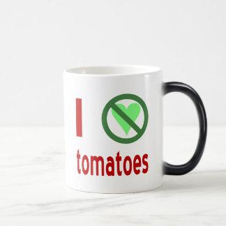 Odio los tomates taza mágica