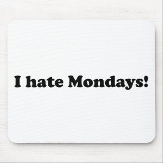 Odio lunes tapete de raton