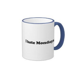 Odio lunes tazas