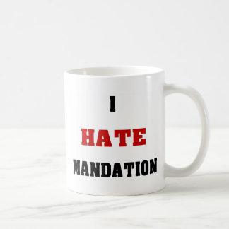 Odio Mandation Taza Clásica