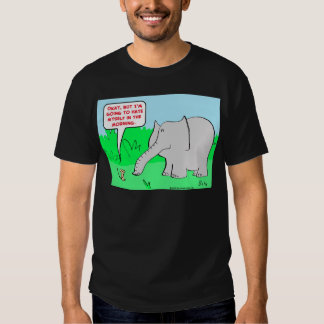 odio mismo del elefante del ratón camisas