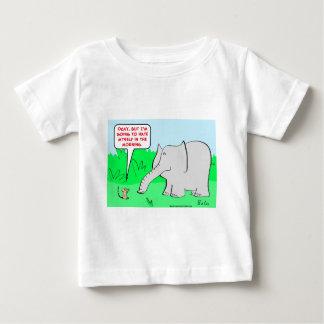 odio mismo del elefante del ratón poleras