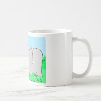 odio mismo del elefante del ratón tazas de café