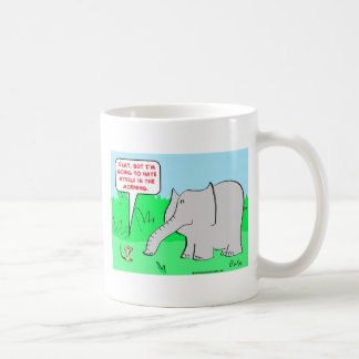 odio mismo del elefante del ratón taza