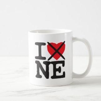 Odio NE - Nebraska Taza De Café