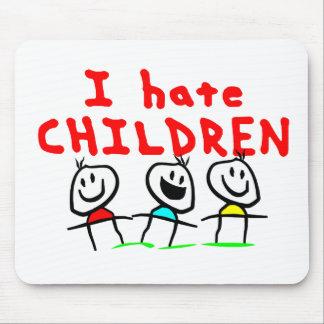 ¡Odio niños! Alfombrilla De Ratones